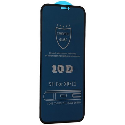 """Стекло защитное MItrifON 5D Privacy Series Антишпион Твердость 9H для iPhone 11/ XR (6.1"""") Black - фото 42022"""