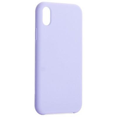 "Накладка силиконовая MItrifON для iPhone XR (6.1"") без логотипа Lilac Сиреневый №41 - фото 42084"