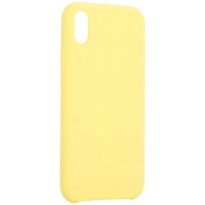 """Накладка силиконовая MItrifON для iPhone XR (6.1"""") без логотипа Yellow Желтый №55 - фото 42085"""