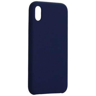 """Накладка силиконовая MItrifON для iPhone XR (6.1"""") без логотипа Ультрамарин №63 - фото 42259"""