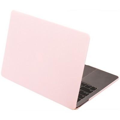 "Защитный чехол-накладка HardShell Case для Apple MacBook New Pro 13"" Touch Bar (2016-2020г.) A1706/A1708/A1989/A2159/A2289/A2251 (M1) матовая Розовая - фото 42275"