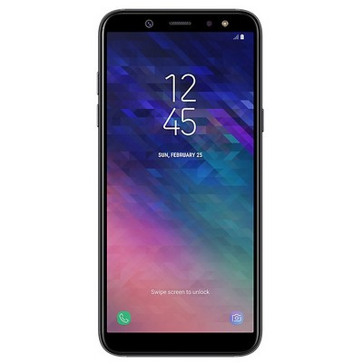 Samsung Galaxy A6 32GB SM-A600F EU Black - фото 5722