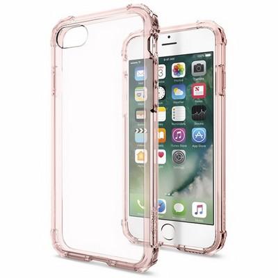 Spigen iPhone 7 Case Crystal Shell Rose Gold - фото 9853