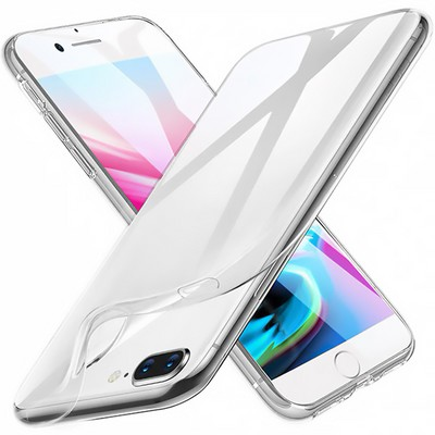 Силиконовый чехол для iPhone 8 / 7 прозрачный - фото 9926