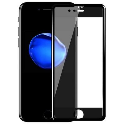 Стекло защитное (гладкое) Hoco Nano Tempered Glass Film для iPhone 7 Plus (5.5) GH7 Black - фото 9941