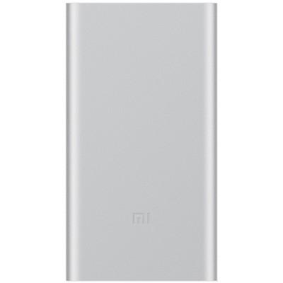 Аккумулятор внешний универсальный Xiaomi Mi Power Bank 2 New (2018г.) 10000 mAh (2USB выход: 5V 2.1A) Silver ORIGINAL - фото 9949