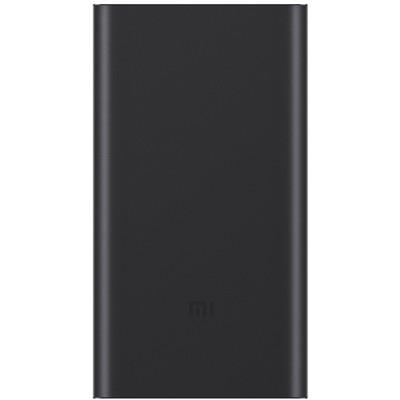 Аккумулятор внешний универсальный Xiaomi Mi Power Bank 2 New (2018г.) 10000 mAh (2USB выход: 5V 2.1A) Black ORIGINAL - фото 9953