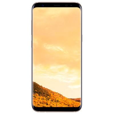 Samsung Galaxy S8 64GB SM-G950F желтый топаз - фото 10181