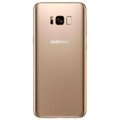 Samsung Galaxy S8 64GB SM-G950F желтый топаз - фото 10182