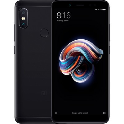 Xiaomi Redmi Note 5 3/32GB Global EU black (черный) - фото 10452
