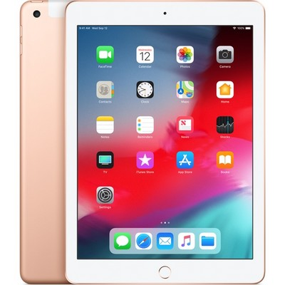 Apple iPad (2018) 32Gb Wi-Fi + Cellular Gold - фото 10475