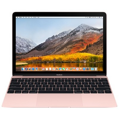 Apple MacBook 12 Retina 2016 512Gb Rose Gold Z0TE0 (1.3GHz, 8GB, 512GB) - фото 10558