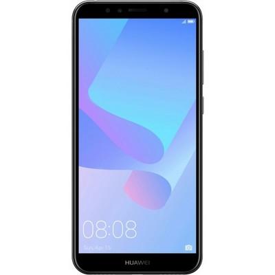 Телефон Huawei Y6 Prime (2018) 16GB черный RU - фото 10897