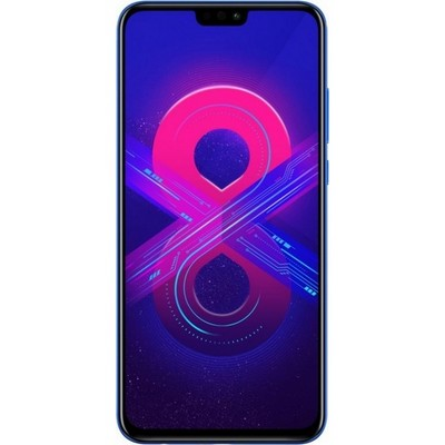 Huawei Honor 8X 128Gb Blue RU - фото 10953