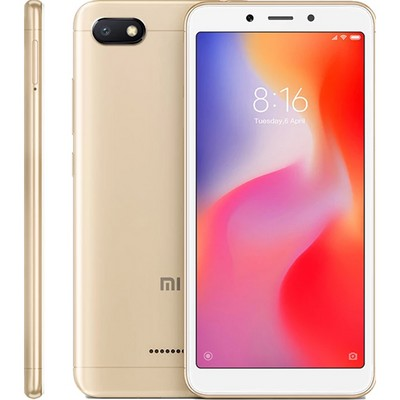 Xiaomi Redmi 6A 2/16GB Global RU gold (золотой) - фото 6023