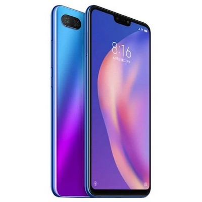 Xiaomi MI 8 lite 6gb 128 blue РСТ - фото 19771
