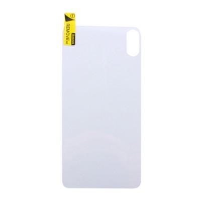 "Стекло защитное Baseus прозрачное для iPhone XS Max (6.5"") SGAPIPH65-ABM02 заднее - фото 11355"