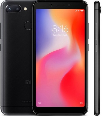 Xiaomi Redmi 6 4/64GB Global EU black (черный) - фото 6088
