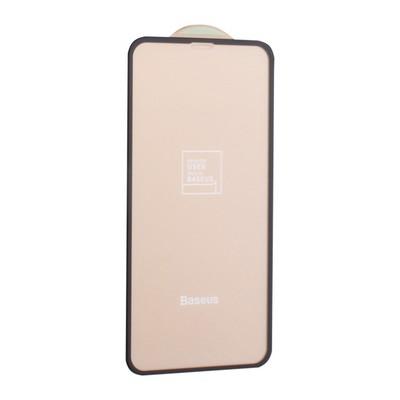 "Стекло защитное Baseus 3D Arc-Surface Anti-Fingerprints SGAPIPHX-TN01 для iPhone 11 Pro/ XS/ X (5.8"") 0.20mm Black - фото 11695"