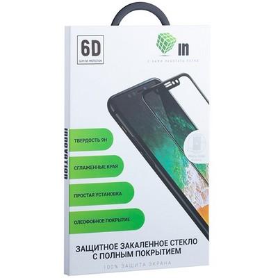 Стекло защитное Innovation 6D для iPhone 8 Plus/ 7 Plus (5.5) Черное - фото 16560