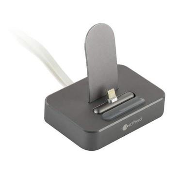 Док-станция COTEetCI Base6 Lightning stand CS2310-GY для iPhone X/ 8 Plus/ 8/ 7 Plus7/ 6/ SE/ iPod touch Серая - фото 11854