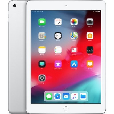 Apple iPad (2018) 128Gb Wi-Fi Silver MR7K2RU - фото 6717