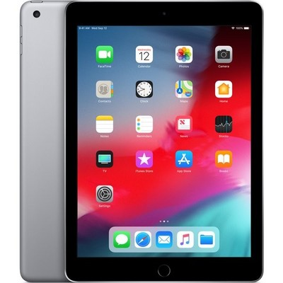 Apple iPad (2018) 128Gb Wi-Fi Space Gray MR7F2RU - фото 6713
