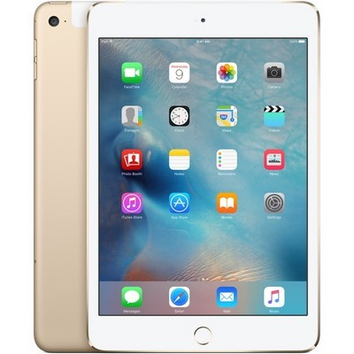 Apple iPad mini 4 16Gb Wi-Fi + Cellular Gold - фото 6791
