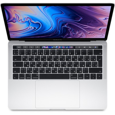 Apple MacBook Pro 13 Retina and Touch Bar 2019 256Gb Silver MV992 (2.4GHz, 8GB, 256GB) - фото 20694