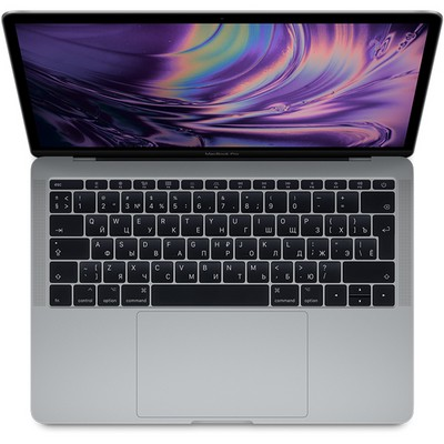 Apple MacBook Pro 13 Retina and Touch Bar 2018 512Gb Space Gray (серый космос) MR9R2RU (2.3GHz, 8GB, 512GB) - фото 7129