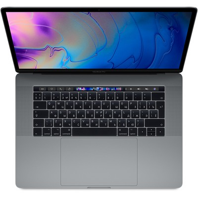 Apple MacBook Pro 15 Retina and Touch Bar 2018 256Gb Space Gray (серый космос) MR932RU (2.2GHz, 16GB, 256GB) - фото 7145
