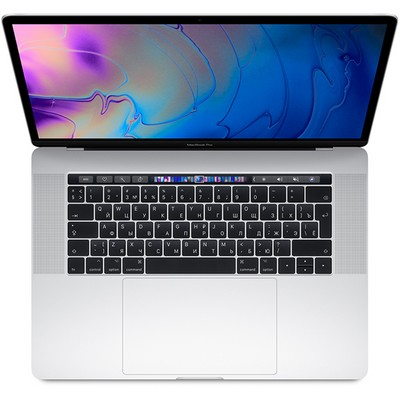 Apple MacBook Pro 15 Retina and Touch Bar 2019 256Gb Silver MV922 (Core i7 2.6GHz, 16Gb, 256Gb, Radeon Pro 555X) - фото 20941