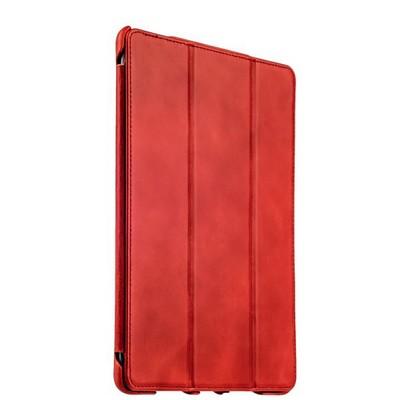 """Чехол кожаный i-Carer для iPad Pro (9.7"""") Vintage Series (RID704red) Красный - фото 14336"""