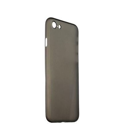 Чехол-накладка супертонкая для iPhone SE (2020г.)/ 8/ 7 (4.7) 0.3mm пластик в техпаке Черный матовый - фото 14477