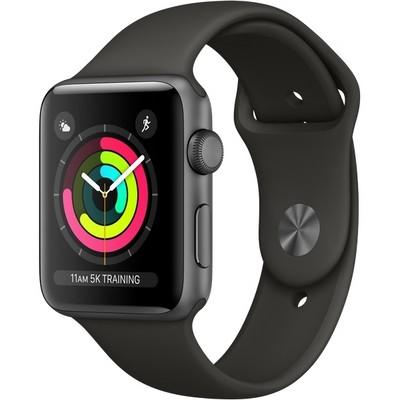 Умные Часы Apple Watch Series 3 42mm Space Gray Aluminum Case with Sport Band(GPS) Space Gray MR362 серый космос/серый - фото 7495