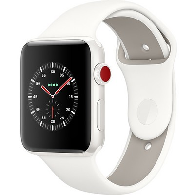 Apple Watch Edition Series 3 38mm with Sport Band White (Белый) - фото 7506