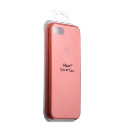 Чехол-накладка силиконовый Silicone Case для iPhone 8/ 7 (4.7) Orange Оранжевый №2 - фото 14622