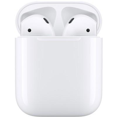 Наушники Apple AirPods 2 (без беспроводной зарядки чехла) - фото 21152