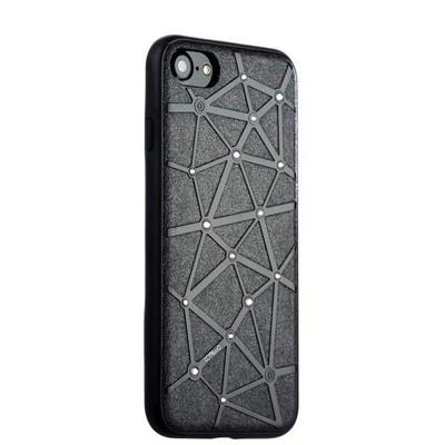 Чехол-накладка силиконовый COTEetCI Star Diamond Case для iPhone 8/ 7 (4.7) CS7032-BK Черный - фото 14770