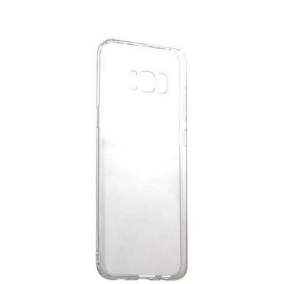 Чехол силиконовый для Samsung GALAXY S8+ SM-G955F уплотненный в техпаке (прозрачный) - фото 16817