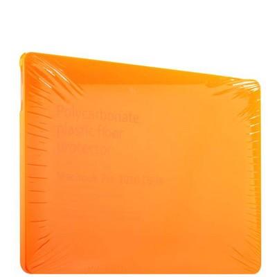 "Защитный чехол-накладка BTA-Workshop для MacBook Pro 15"" Touch Bar (2016г.) матовая оранжевая - фото 14836"