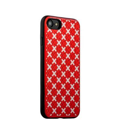 Чехол-накладка силиконовый COTEetCI College Case для iPhone SE (2020г.)/ 8/ 7 (4.7) CS7035-RW Розово-белый - фото 14845