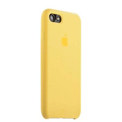 Чехол-накладка силиконовый Silicone Case для iPhone 8/ 7 (4.7) Желтый № - фото 14849