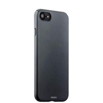 Чехол-накладка пластик Soft touch Deppa Air Case D-83269 для iPhone SE (2020г.)/ 8/ 7 (4.7) 1мм Графитовый - фото 14881