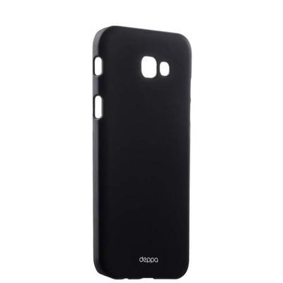 Чехол-накладка пластик Soft touch Deppa Air Case D-83289 для Samsung Galaxy A7 SM-A720F (2017 г.) 1мм Черный - фото 14893