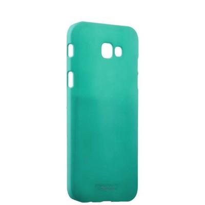 Чехол-накладка пластик Soft touch Deppa Air Case D-83291 для Samsung Galaxy A7 SM-A720F (2017 г.) 1мм Мятный - фото 14894
