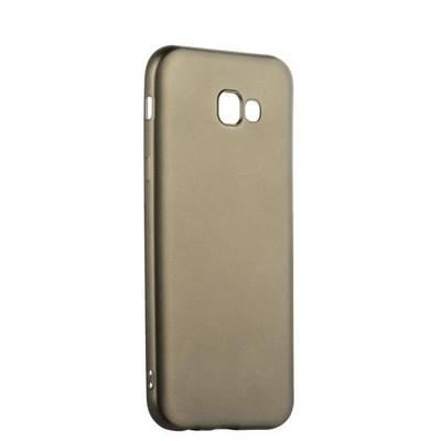 Чехол-накладка силиконовый J-case Delicate Series Matt 0.5mm для Samsung Galaxy A7 (2017) Графитовый - фото 14982