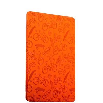 "Чехол-подставка Deppa Wallet Onzo для Apple iPad Pro (9.7"") с тиснением (PU эко-кожа) 1.0мм D-88024 Оранжевый - фото 16827"