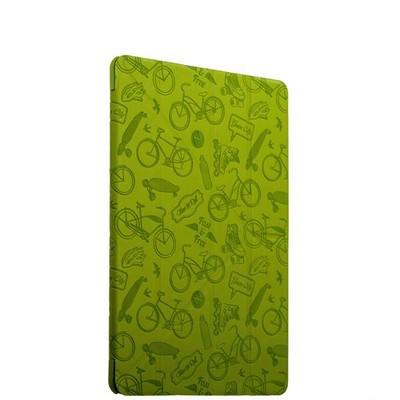 "Чехол-подставка Deppa Wallet Onzo для Apple iPad Pro (9.7"") с тиснением (PU эко-кожа) 1.0мм D-88025 Зеленый - фото 15056"
