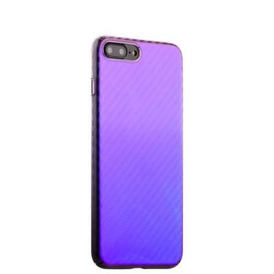 "Чехол-накладка пластиковый J-case Colorful Fashion Series 0.5mm для iPhone 8 Plus/ 7 Plus (5.5"") Фиолетовый оттенок - фото 15238"